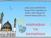 Pantun Ucapan Selamat Ramadhan