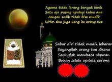 Pantun Ramadhan Akan Meninggalkan Kita