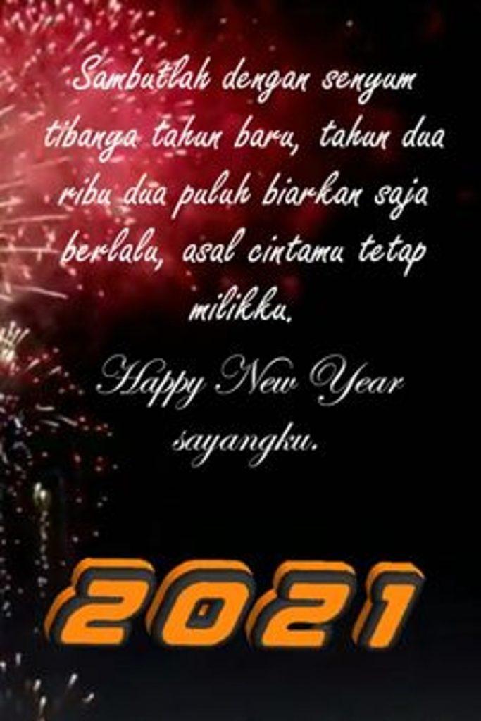 Kata-kata Cinta ucapan selamat tahun baru